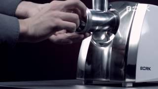 Інструкція до BORK M401 відео збірки м'ясорубки BORK по інструкції від виробника