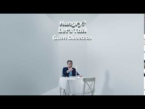 The Gum Disease Spokesman Takes On: Dinner For Two | By Perio Protect