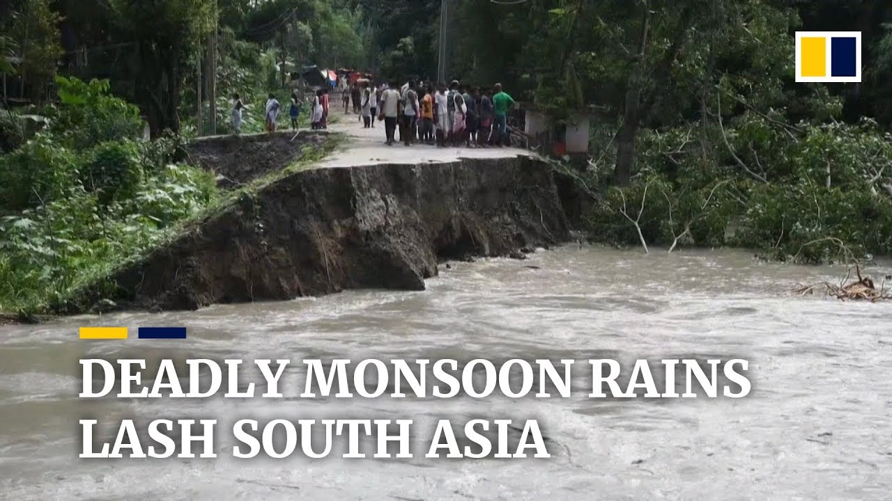 JULY 2019: Torrential monsoon rains cause over 70 deaths in Bangladesh, India and Nepal