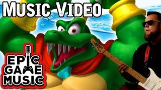 Gangplank Galleon (King K. Rool Theme) Donkey Kong Country Music Video    Epic Game Music