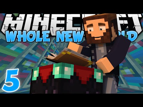 "Minecraft: A Whole New World - Ep. 5 - ""READY TO ENCHANT!"" (Minecraft Survival Map)"