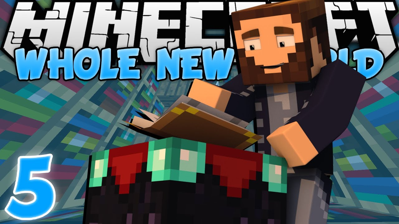 Minecraft A Whole New World  Ep 5  READY TO ENCHANT