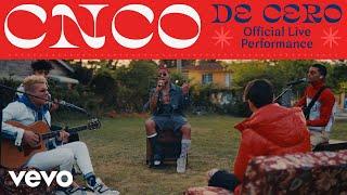 "CNCO - ""De Cero"" Live Performance | Vevo LIFT"