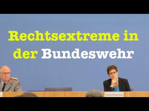 Kampf gegen Rechtsextreme in der Bundeswehr/KSK | Verteidigungsministerin AKK | BPK 1. Juli 2020