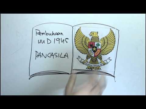 Konstitusi dan Dasar Negara Republik Indonesia [cara merangkum materi PKN oleh siswa PSTD]