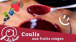 COMMENT FAIRE UN COULIS DE FRUITS ROUGES #41