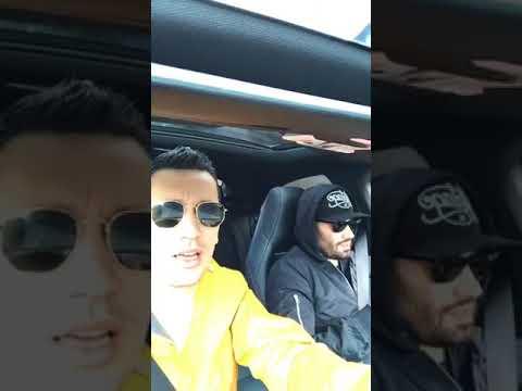 Mihai Bendeac si Domnul Rima flick In masina   26 Februarie 2017