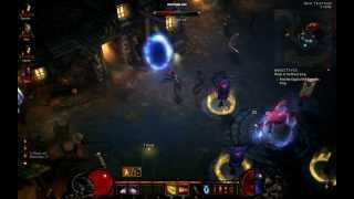 Diablo 3 Town Battle