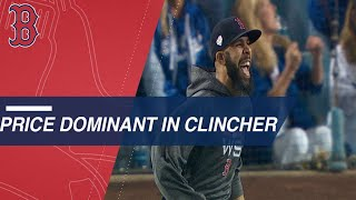 David Price's dominant start helps the Red Sox clinch the World Series