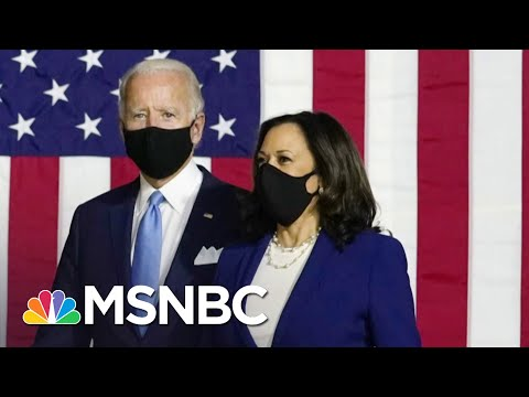 With The Convention Now Behind Them, Biden & Harris Look To Maintain The Momentum   Deadline   MSNBC