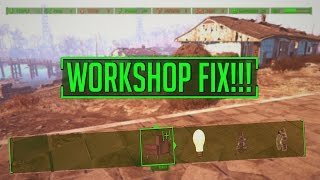 Fallout 4 - How To FIX Missing Structures In Building Mode