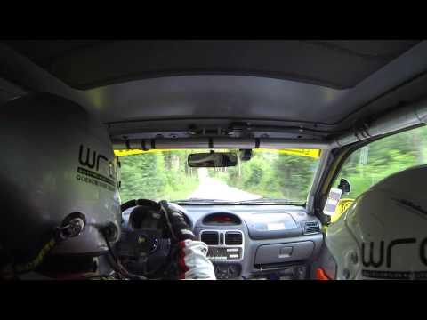 JL Kärnten Rallye 2015 SP8 Onboard - Kroneder/Zehetbauer Renault Clio Sport