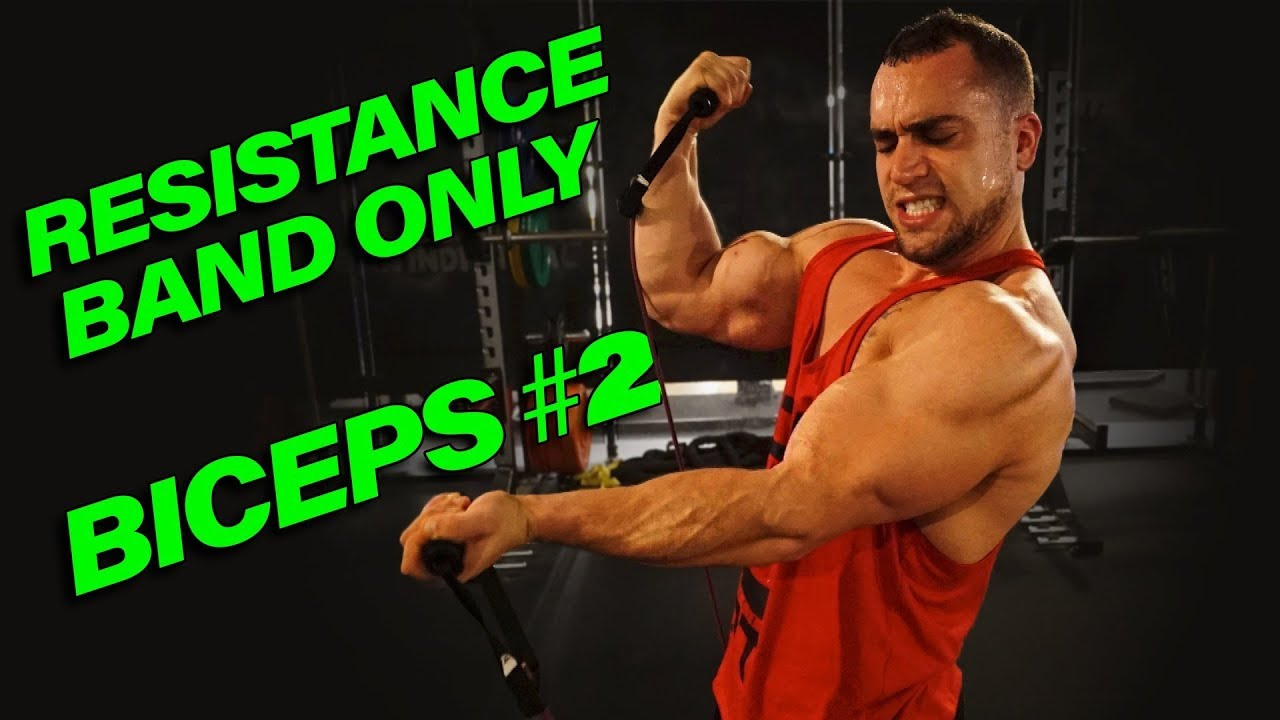 Intense 5 Minute Resistance Band Bicep Workout 2 Youtube