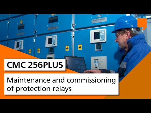 Maintenance and commissioning of protection relays: CMC 256plus