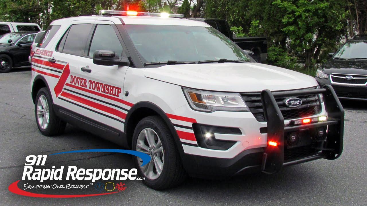 Dover Township Fire 2016 Ford Interceptor Utility | 911RR ...