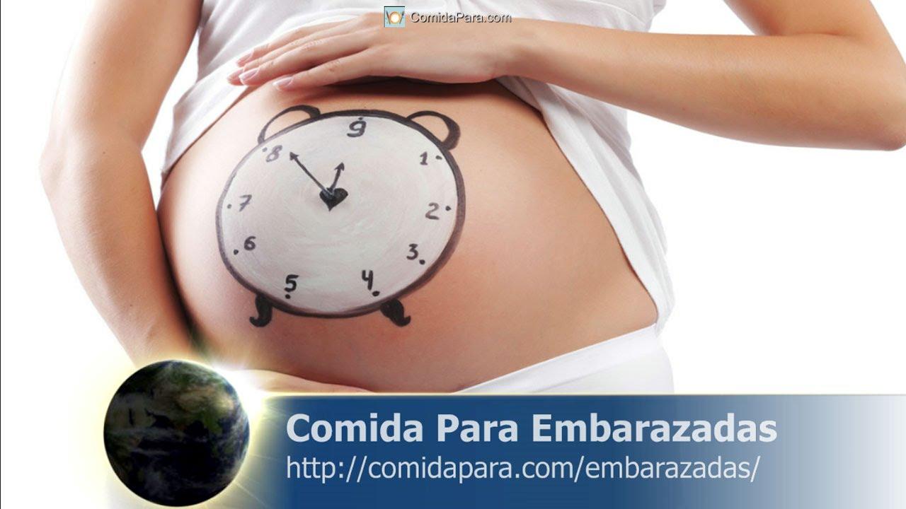 Comida para embarazadas youtube - Alimentos saludables para embarazadas ...