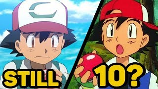 how old is ash ketchum? still 10? pokemon theory