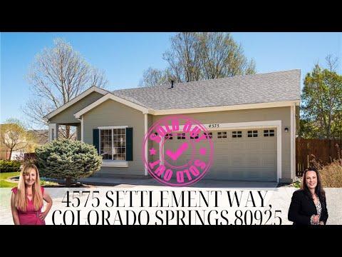 4575 Settlement Way, Colorado Springs, CO 80925