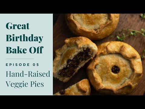 Making Paul Hollywood's Hand-Raised Pies *Vegetarian*