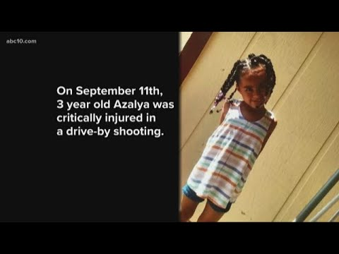 Vigil held for 3-year-old girl shot in South Sacramento