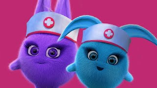 Sunny Bunnies | SUNNY BUNNIES - 의사와 간호사 | 어린이를위한 재미있는 만화 | WildBrain