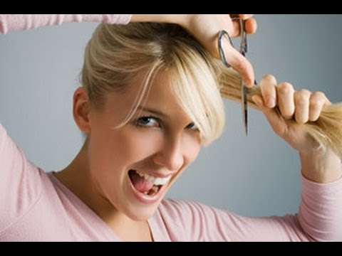 how to style short hair with bangs and layers how to professionally cut your own hair bangs curls 9714 | hqdefault