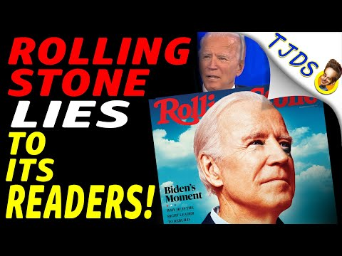 Rolling Stone LIES To Its Readers With BIDEN Endorsement!