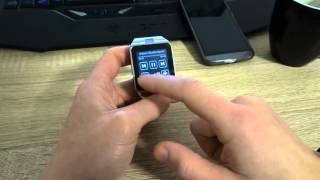 Умные часы Aplus GV18 с SIM картой. Тест фото и видео.