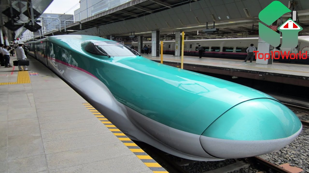 Top 10 Fastest Trains in the World - YouTube