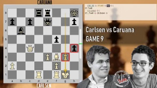 Caruana vs Carlsen - Live Stream - Live Parte 2 - Game 9