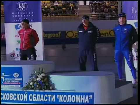 medal ceremony men European Championships Kolomna