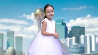Топ топ балакан   поёт Гаухар ей 4 года