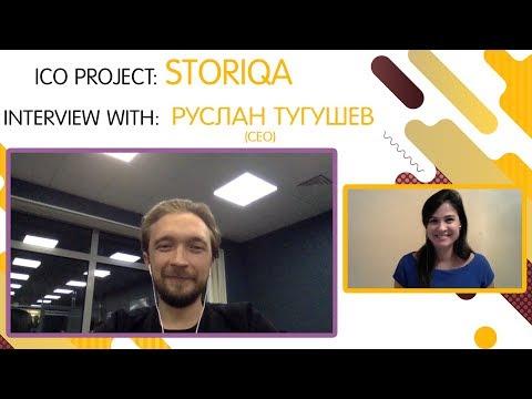 "ICO ""STORIQA"" interview with Ruslan Tugushev [RU] [SUB:ENG]"
