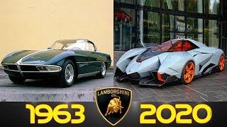 Lamborghini - Evolution (1963 - 2020)