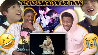 Taekook Moments (Jungkook and taehyung in a nutshell) | REACTION