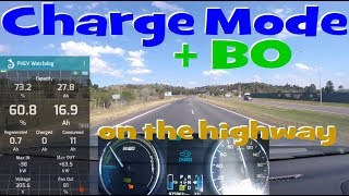 EP140.4 - Driving the PHEV in Charge Mode and B0 for best fuel economy on the highway