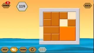 RiverCrossing IQ Logic 33 | Remove Orange square Block