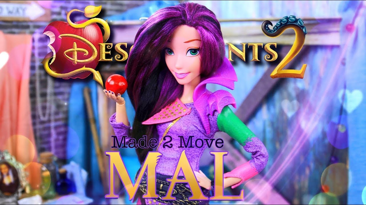 Relatively DIY - How To Make: Made to Move Disney Descendants 2 | Mal  IE76