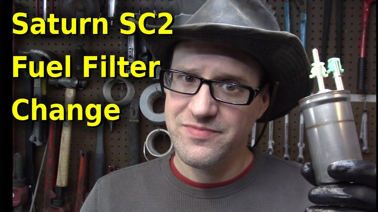 hight resolution of 2001 saturn sc2 fuel filter change
