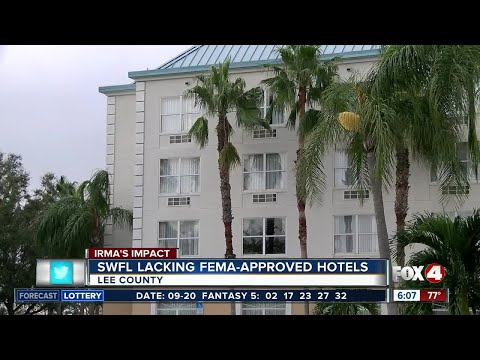 "No ""open"" FEMA approved hotels in Southwest Florida"