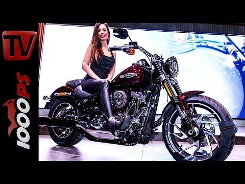 Harley-Davidson Neuheiten 2018 - Sport Glide, Softail Street Bob, Softail Heritage Classic