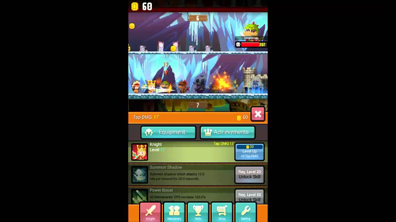 Tap! Tap! Faraway Kingdoms screen cap