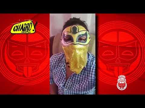 Bandido estará presente en Chairo 11 este Lunes 20 de Noviembre, en la Arena Naucalpan