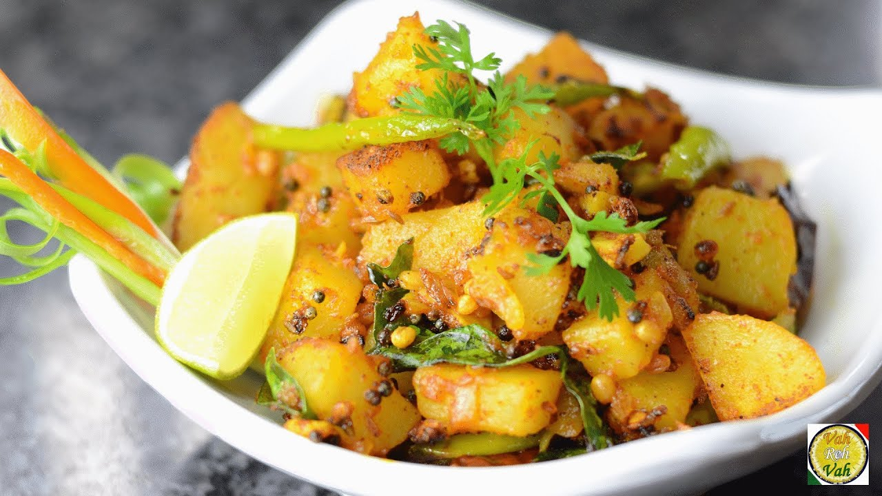 Sweet potato masala fry by vahchef vahrehvah youtube tired of ads forumfinder Image collections