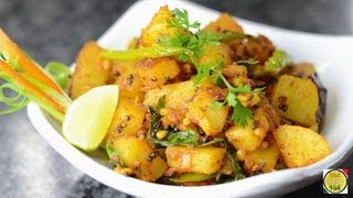Sweet Potato Masala Fry  - By Vahchef @ Vahrehvah.com