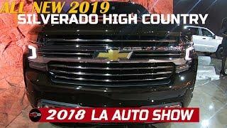 2019 Chevrolet Silverado Hight Country Exterior Walkaround - 2018 LA Auto Show