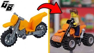LEGO MOC - From moto to quad bike