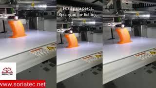Fabricación de fusil para pesca apnea, Soriatec