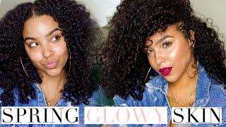 Spring Glowy Skin Makeup Tutorial | NO BAKING!