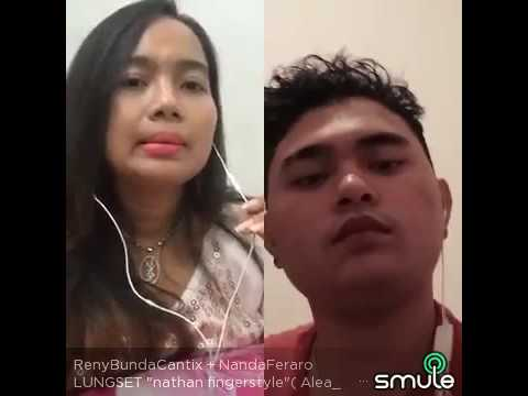 Reny Farida feat Nanda Feraro on Smule Lungset
